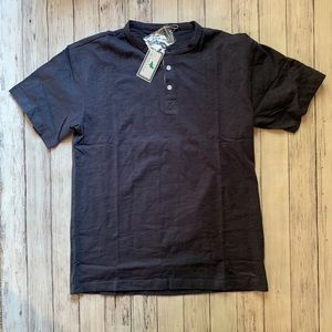 Properly tied henley tee